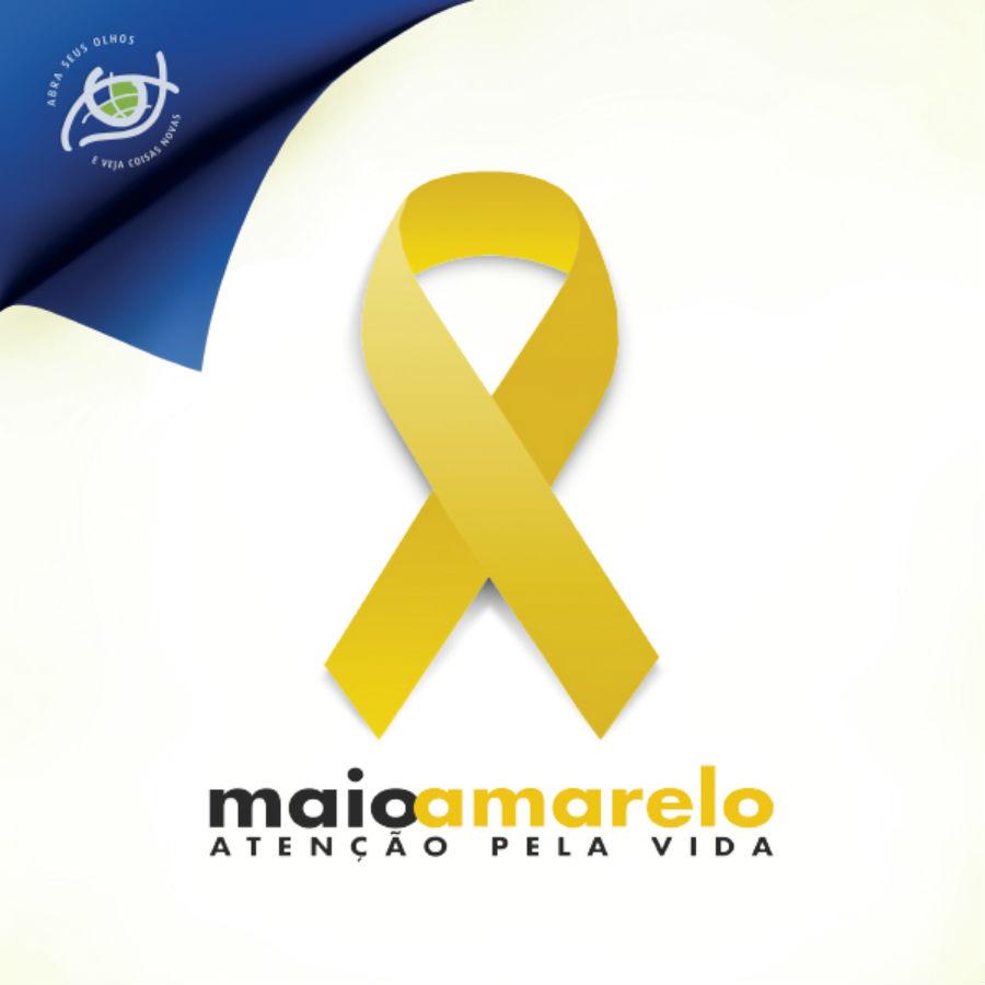 """Apoio à campanha Maio Amarelo faz parte da iniciativa """"Abra seus olhos e veja coisas novas""""."""