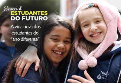 """A vida nova dos estudantes do """"ano diferente"""""""