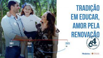 Medianeira 64 Anos - Conheça a história da família do sempre-aluno Tiago com o Medianeira