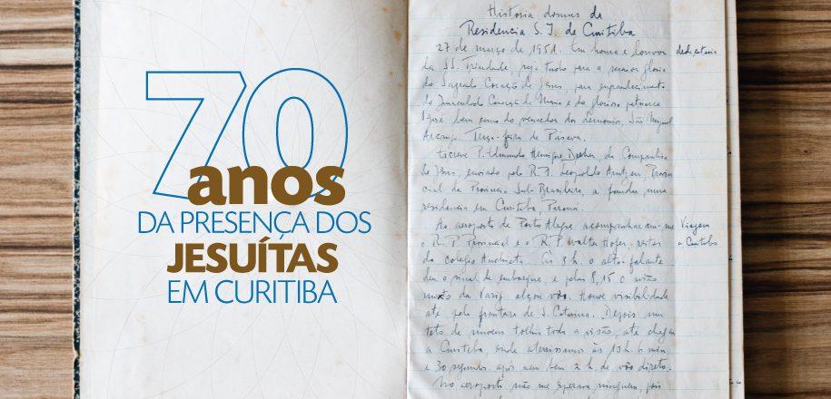 Celebração pelos 70 anos dos jesuítas em Curitiba