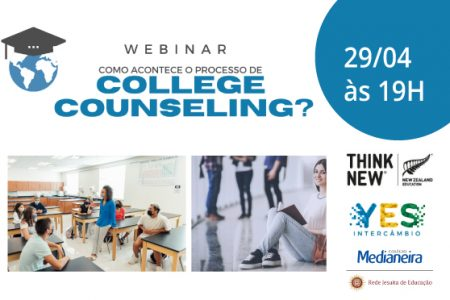 Webinar - Como acontece o processo College Counseling