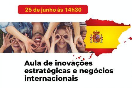 Aula de inovação estratégica e negócios internacionais